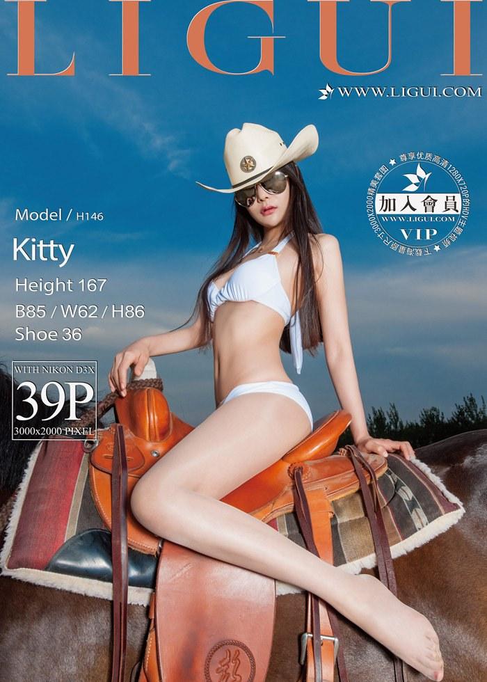 [Ligui丽柜]2016.06.27 Model Kitty[39+1P/42.9M]